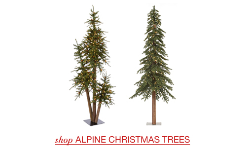 Artificial Alpine Trees