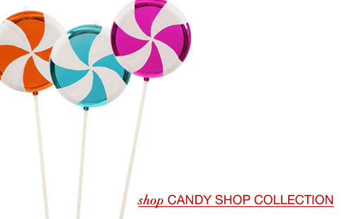 Large Candy Shop Ornaments