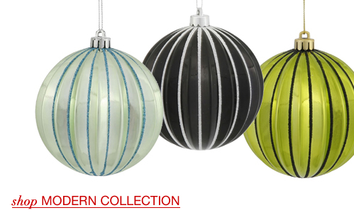 Large Modern Ornaments