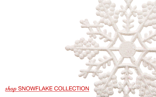 Large Snowflake Ornaments