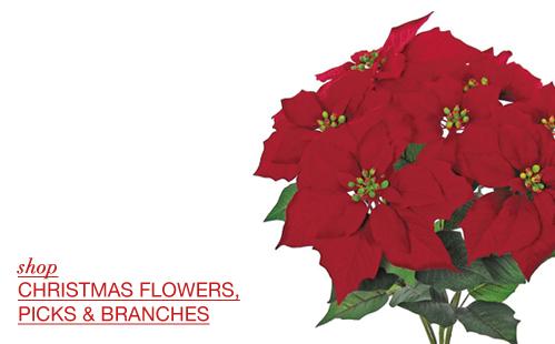 Christmas Flowers and Sprays
