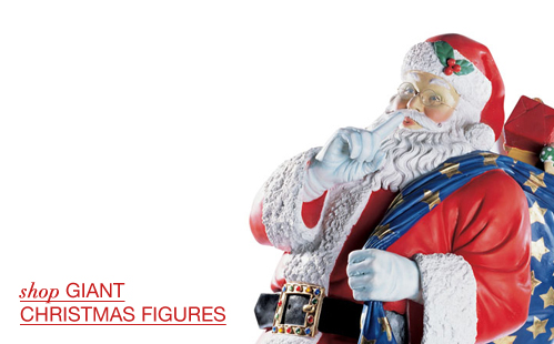 Giant Christmas Figures