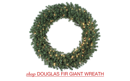 Douglas Fir Giant Christmas Wreaths