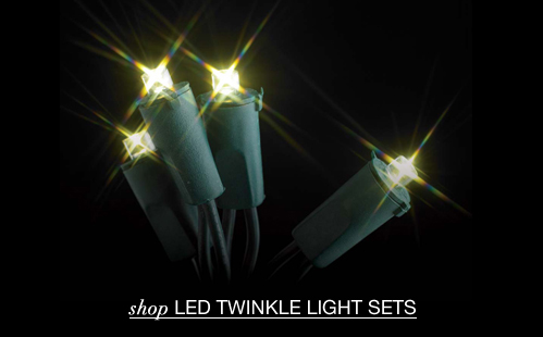 LED Twinkle Light Strings