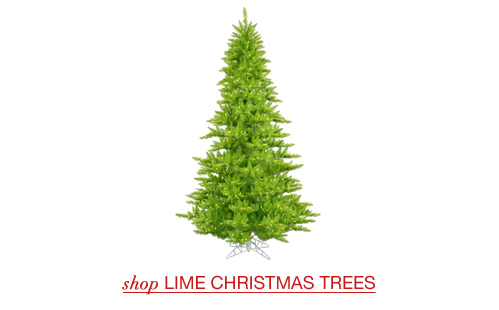 Lime Christmas Trees