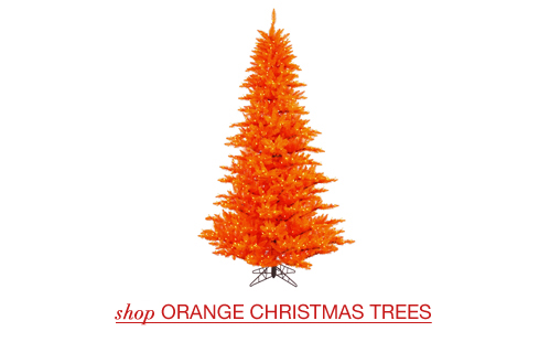 lime christmas trees orange christmas trees - Orange Christmas Tree