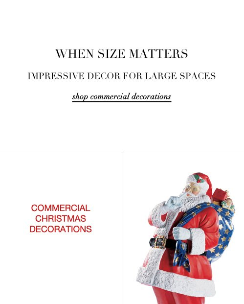 Shop Commercial Christmas Decorations