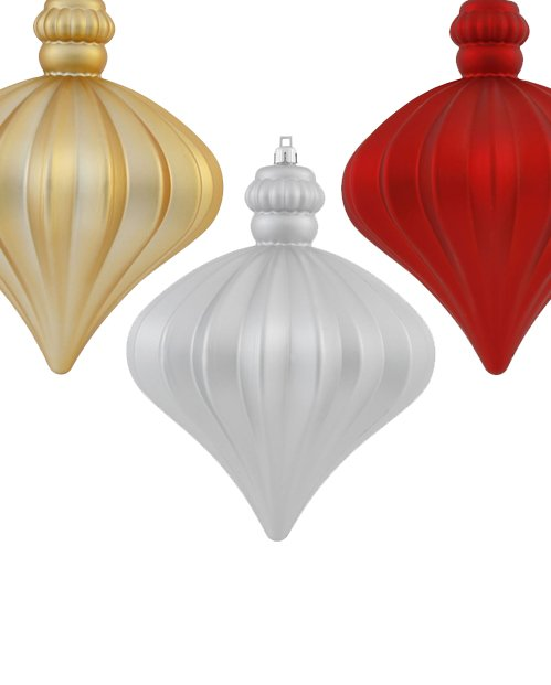 Large Onion Ornaments
