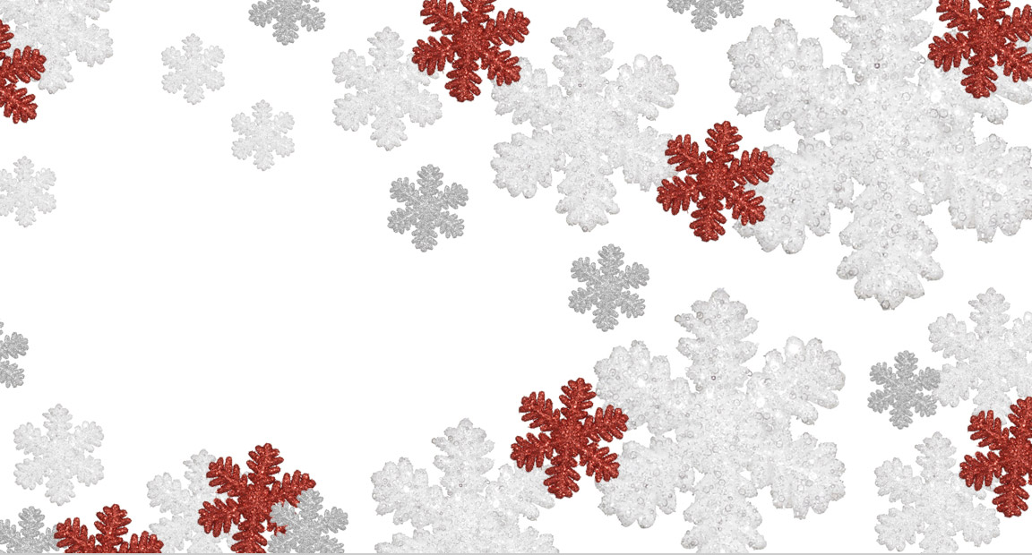 Large Snowflake Ornament Collection