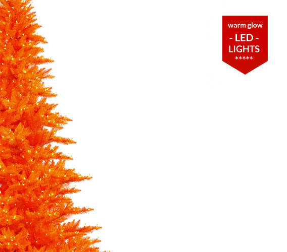 Orange Christmas Trees