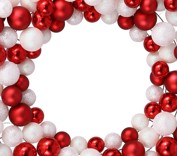 Ornament Wreaths and Garlands