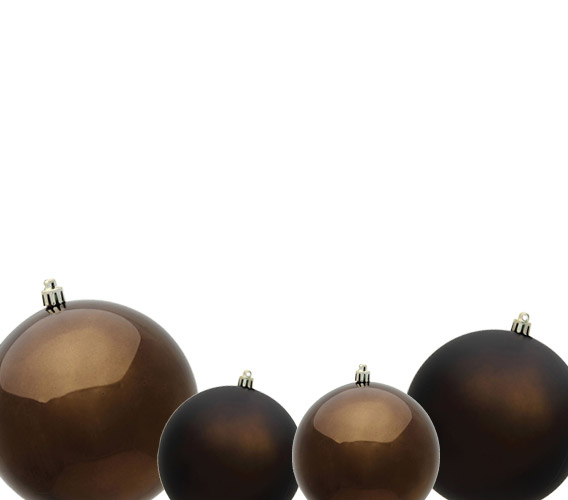 Truffle Christmas Ball Ornaments