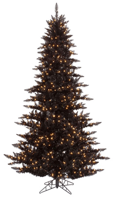 Black Colored Christmas Tree