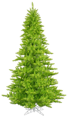 Lime Colored Christmas Tree
