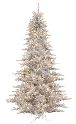Silver Colored Christmas Tree