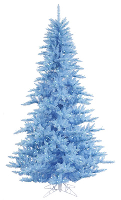 Sky Blue Christmas Tree