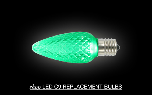 LED C9 Replacement Bulbs