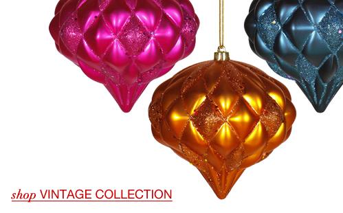 Large Vintage Ornaments