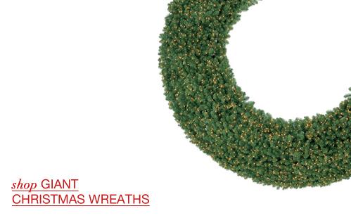 Giant Christmas Wreaths