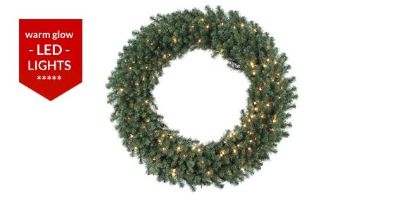 Douglas Fir Giant Christmas Wreaths