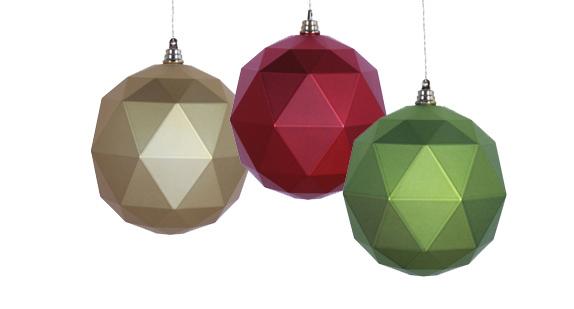 Large Modern Ornaments