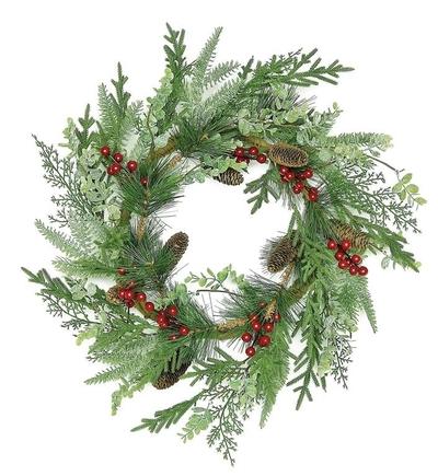 """'Tis The Season Wreath 24"""""""