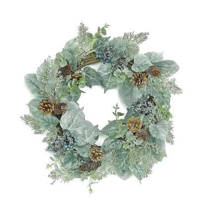 "Blue Ivy Wreath 22"""