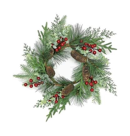 """'Tis The Season Table Wreath 16"""""""