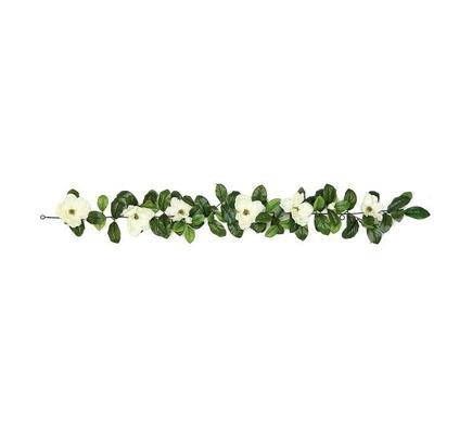 Magnolia Blossom Garland 6'