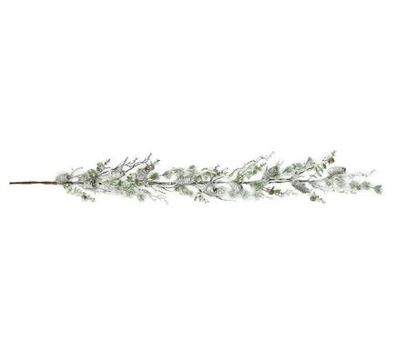 Snowy Eucalyptus Pine Garland 5'
