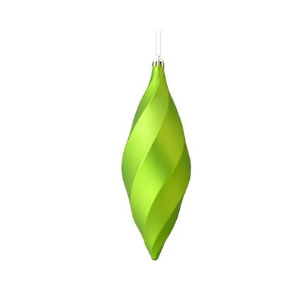 """Arielle Drop Ornament 8"""" Set of 6 Celadon Matte"""