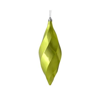 "Arielle Drop Ornament 8"" Set of 6 Celadon Shiny"