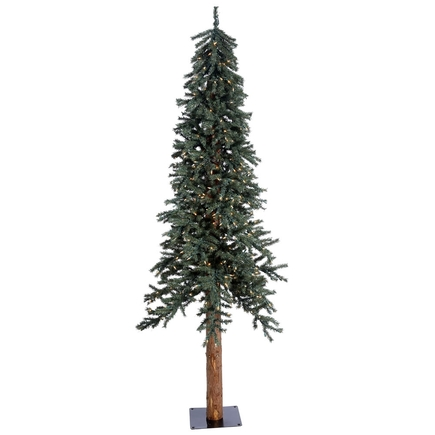 7' Aspen Alpine Tree Warm White LED