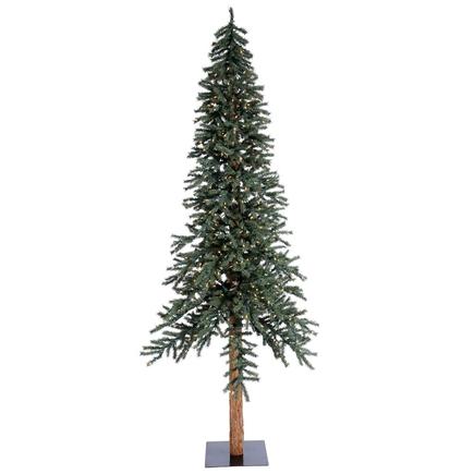 8' Aspen Alpine Tree Warm White LED