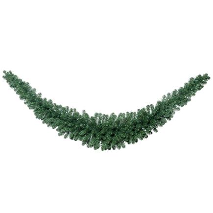 """White Pine Swag Garland 9' x 24"""""""