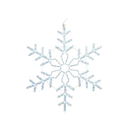 "LED Ropelight Christmas Snowflake 48"""