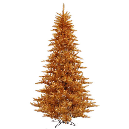 3' Copper Fir Full w/ LED Lights