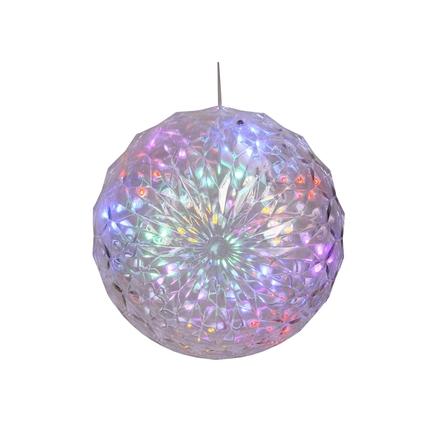 """LED Crystal Ball Multi 6"""""""