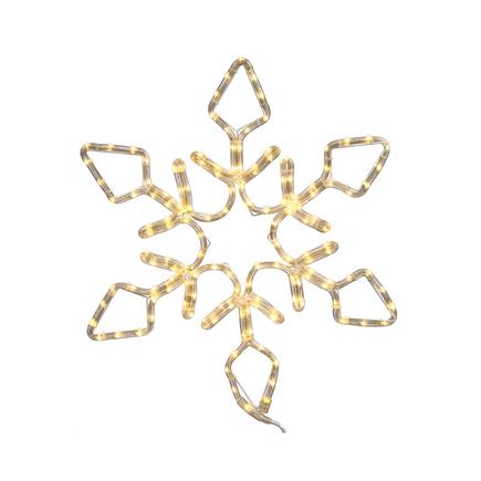 "LED Diamond Snowflake 24"""