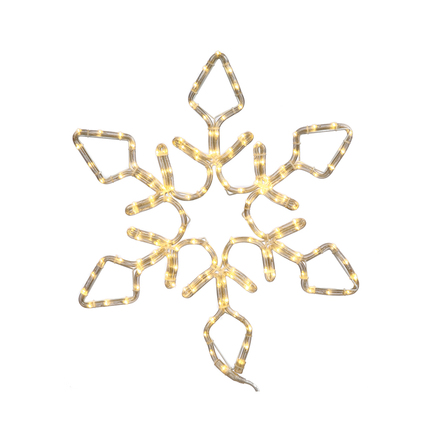 "LED Diamond Snowflake 48"""