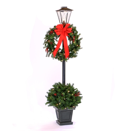 6.5' Christmas Lantern Warm White LED