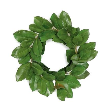 "Star Magnolia Wreath 24"""