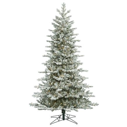 9' Frosted Idaho Pine Medium Warm White LED