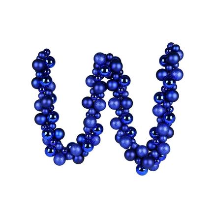 Jolie Ball Garland 6' Blue