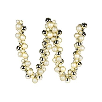 Jolie Ball Garland 6' Champagne