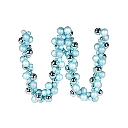 Jolie Ball Garland 6' Ice Blue