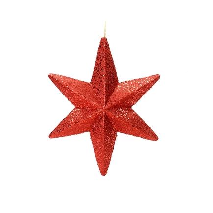 "Celeste Outdoor Star 20"" Red"