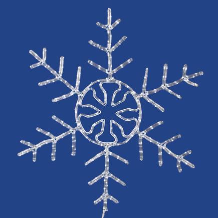 """LED Snowflake 24"""""""