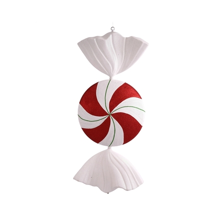 Swirl Candy Ornament 37""