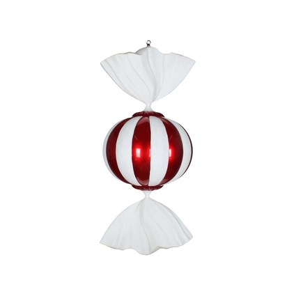 Peppermint Candy Ornament 36""